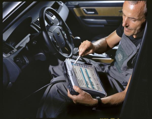 Защищенный ноутбук планшет CF-19mk5