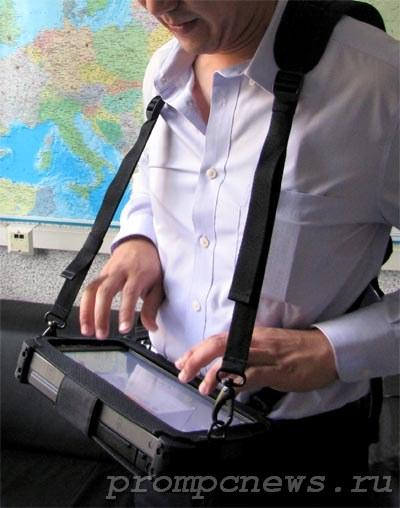 Защищенный планшет Getav E110 на сбруе
