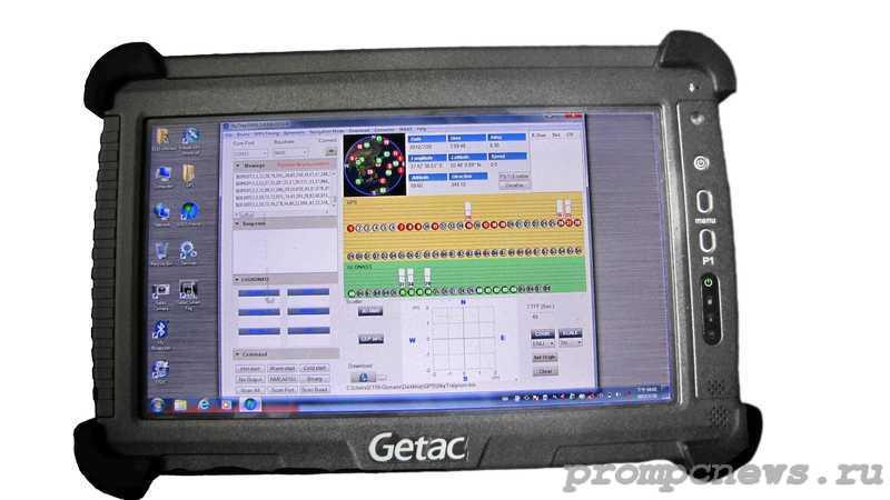 Защищенный планшет Getav E110 GLONASS