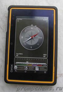 Защищенный планшет Getac Z710 Android компас