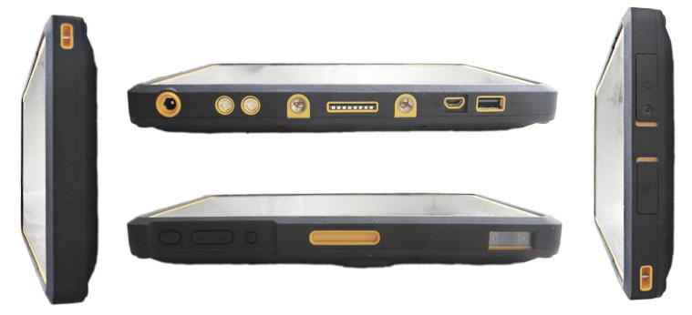 Защищенный планшет Getac Z710 порты