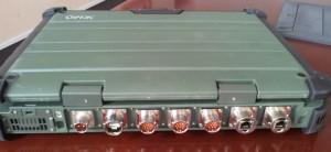 Getac X500 Amphenol connectors
