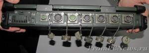 Getac X500 открытые разъёмы