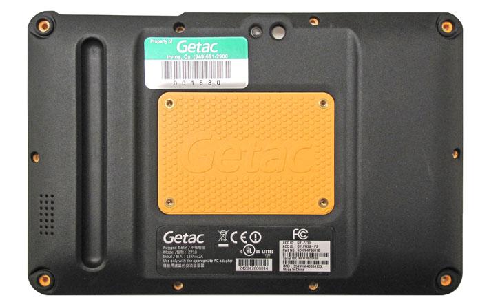 Getac Z710 вид сзади