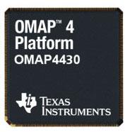 Процессор TI OMAP 4430